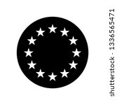 europe union star icon | Shutterstock .eps vector #1336565471