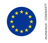europe union star icon | Shutterstock .eps vector #1336565477