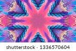 geometric design  isometric... | Shutterstock .eps vector #1336570604