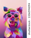Yorkshire Terrier Pop Art