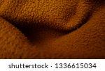 close up of fleece fabric... | Shutterstock . vector #1336615034