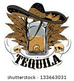 tequila | Shutterstock .eps vector #133663031