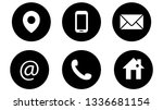 website and internet contact us ... | Shutterstock .eps vector #1336681154