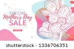 modern template design for mom... | Shutterstock .eps vector #1336706351