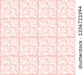 orient vector classic pattern....   Shutterstock .eps vector #1336723394