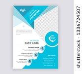 agency business flyer design... | Shutterstock .eps vector #1336724507