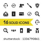 help icons set with rocket... | Shutterstock .eps vector #1336790861