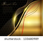 elegant abstract background... | Shutterstock .eps vector #133680989