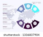 vector info graphics for your... | Shutterstock .eps vector #1336837904