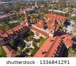 aerial view of ponce de leon... | Shutterstock . vector #1336841291