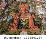 aerial view of ponce de leon... | Shutterstock . vector #1336841294