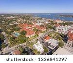 aerial view of ponce de leon... | Shutterstock . vector #1336841297