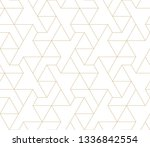 pattern with thin straight... | Shutterstock .eps vector #1336842554