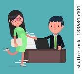 business people vector... | Shutterstock .eps vector #1336845404