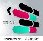 abstract vector design eps 10   Shutterstock .eps vector #133684889