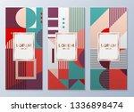 design templates for flyers ...   Shutterstock .eps vector #1336898474