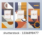 design templates for flyers ... | Shutterstock .eps vector #1336898477