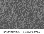 wavy background. hand drawn... | Shutterstock .eps vector #1336915967