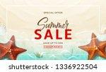 summer sale vector design...   Shutterstock .eps vector #1336922504