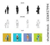 vector design of character and... | Shutterstock .eps vector #1336927994