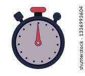 chronometer timer symbol... | Shutterstock .eps vector #1336993604