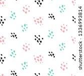 cute paint grunge seamless... | Shutterstock .eps vector #1336993814