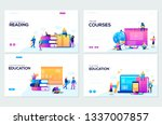 website and mobile website... | Shutterstock .eps vector #1337007857
