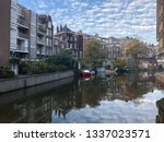 amsterdam city netherlands... | Shutterstock . vector #1337023571