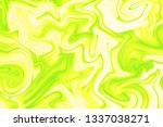 pale yellow and acid green... | Shutterstock . vector #1337038271