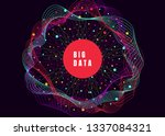 big data. internet connection ... | Shutterstock .eps vector #1337084321