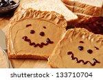 Making Peanut Butter Sandwiches ...