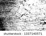 grunge texture of damaged rusty ... | Shutterstock .eps vector #1337140571