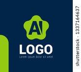 letter ai logo concept....