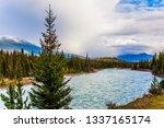 grand autumn in the rockies of... | Shutterstock . vector #1337165174