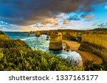 travel to australia. fabulous... | Shutterstock . vector #1337165177