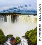 the rainy season.  andean... | Shutterstock . vector #1337165201