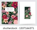 vector illustration set of a... | Shutterstock .eps vector #1337166371