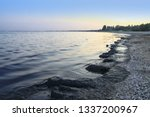 emissions to the sea oil... | Shutterstock . vector #1337200967