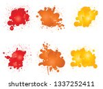 vector collection of artistic... | Shutterstock .eps vector #1337252411