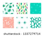 spring seamless pattern | Shutterstock .eps vector #1337279714