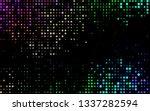 dark multicolor  rainbow vector ... | Shutterstock .eps vector #1337282594