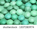 turquoise  cyan  neo mint... | Shutterstock . vector #1337283974