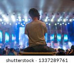 professional cameraman and... | Shutterstock . vector #1337289761
