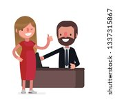 business people vector... | Shutterstock .eps vector #1337315867