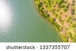 aerial view of park   Shutterstock . vector #1337355707