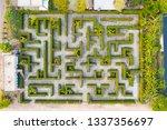 aerial photo top view medium...   Shutterstock . vector #1337356697