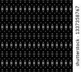 design seamless monochrome grid ... | Shutterstock .eps vector #1337358767