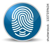 fingerprint on blue glossy...
