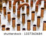 copper pipes of different... | Shutterstock . vector #1337363684
