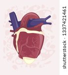 vector illustration of a human... | Shutterstock .eps vector #1337421461